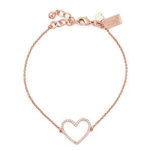KATE SPADE • Scrunched Scallops Heart Bracelet